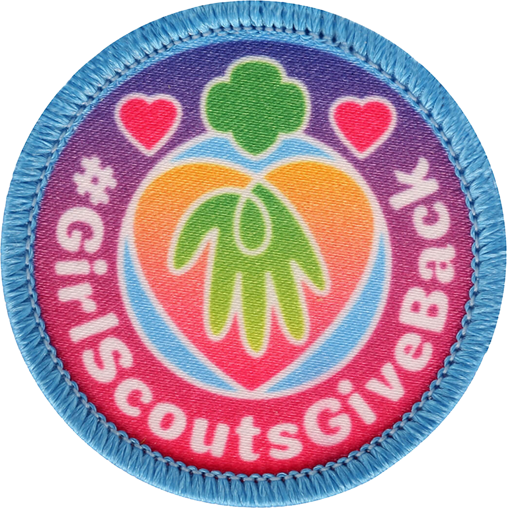 Girl Scouts Give Back Patch