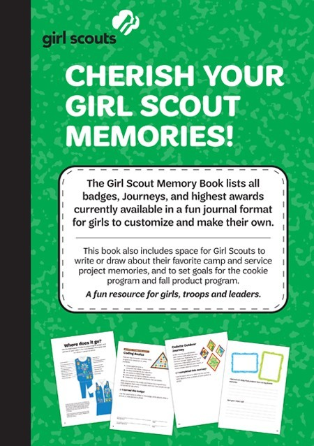 Girl Scout Memory Books